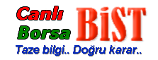 Canlı Borsa BiST