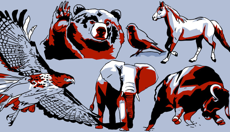 Finans'ın hayvanat bahçesindeki hayvanlar