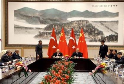 Türkiye ve Çin, enerji ağırlıklı 3 imzada buluştu