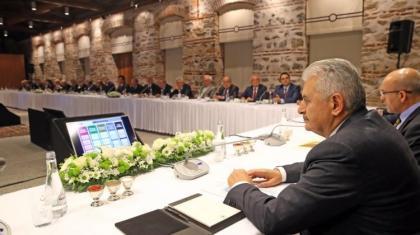 Başbakan Binali Yıldırım, iş dünyası ile buluştu