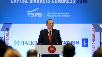 Erdoğan'ın Sermaye Piyasaları Kongresindeki müthiş konuşması