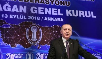 """Başkan Erdoğan:""""Merkez'in enflasyon tahminlerini tutturduğunu görmedim"""""""