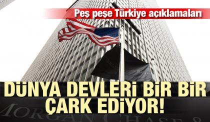 Türkiye ekonomisine Dünya devlerinden övgüler yağıyor