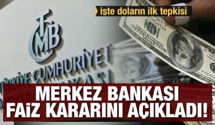 Merkez Bankası, faiz kararıyla sürpriz yaptı