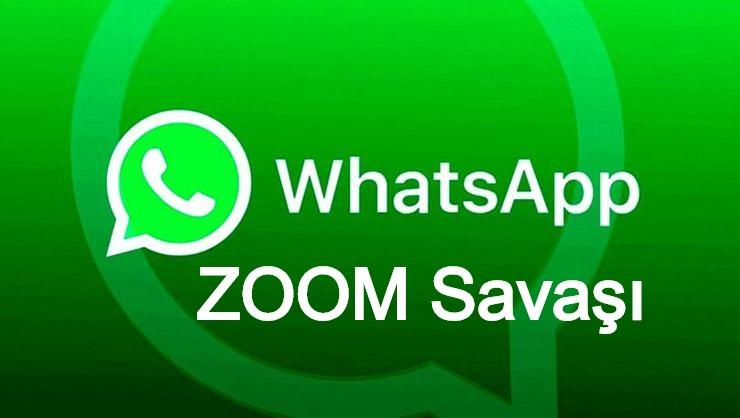 WhatsApp, Videolu Görüşme ile ZOOM'a rakip olacak