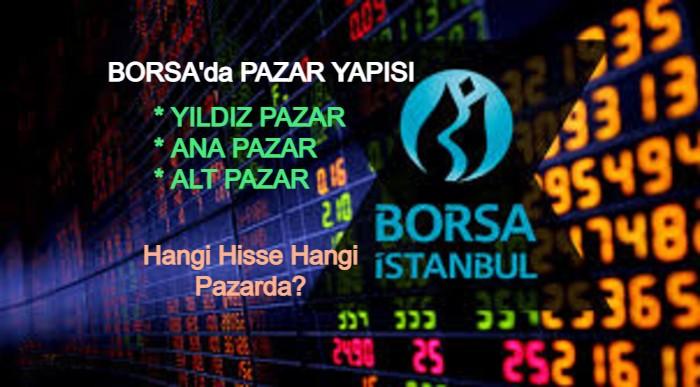 Borsa'da Yıldız Pazar, Ana Pazar, Alt Pazar nedir? Hangi Hisseler nerede?